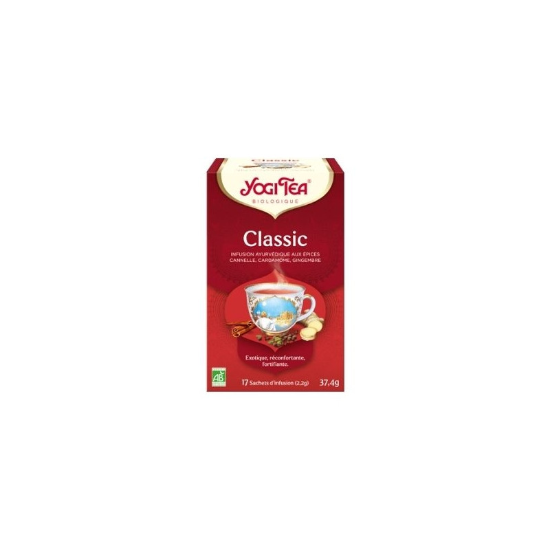 Infusion Classic cannelle gingembre Bio - 17 sachets (37,4g)