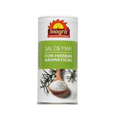 Sel marin aux herbes aromatiques bio - 225 gr