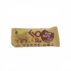 Barre raw cacao amandes - 30 gr