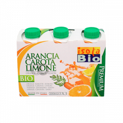 Jus d'orange, carotte et citron bio - 200 ml