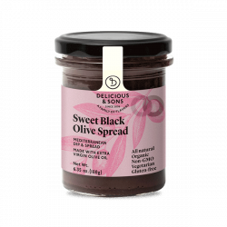 Tapenade d'olives douce - 180 gr