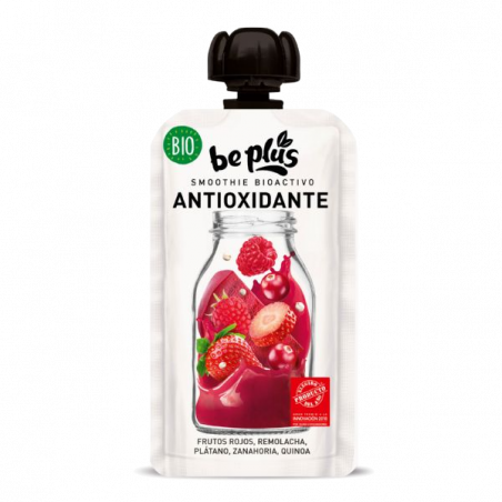 Smoothie bio antioxydant fruits rouges sans gluten - 150 gr