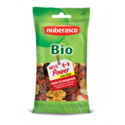 Mélange de fruits secs 'Power' avec baies de goji bio - 40 gr