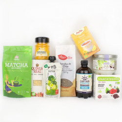 Pack healthy d'initiation - 9 produits
