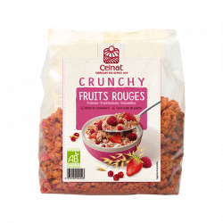 Crunchy Fruits Rouges bio - 500 gr
