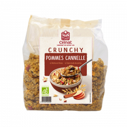 Crunchy Pommes Cannelle bio - 500 gr