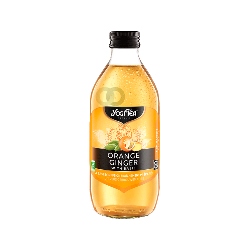 Infusion orange gingembre - 330mL