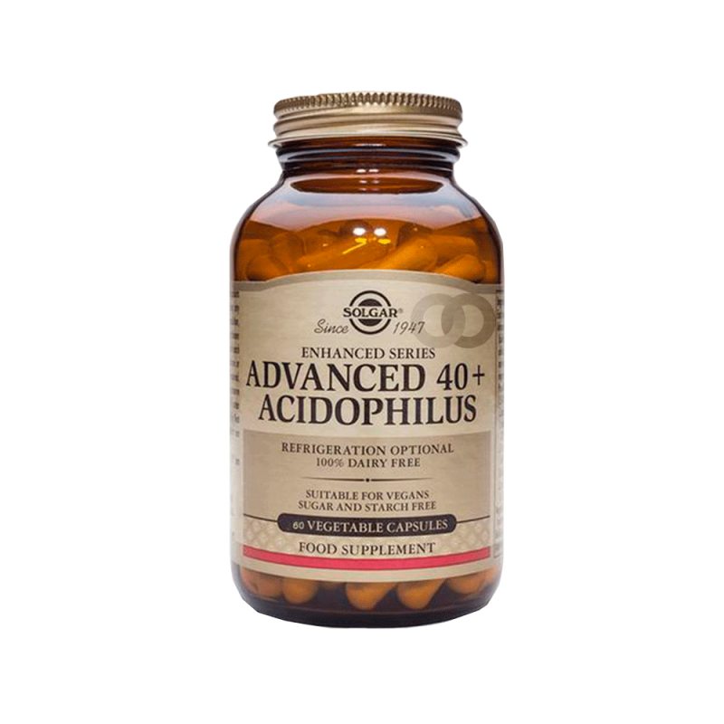 Probiotiques Advanced 40+ Acidophilus - 60 capsules