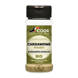 Cardamome moulue bio - 35 gr