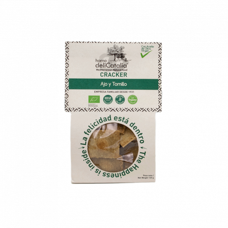 Cracker eco trigo sarraceno y pipas - 125 gr
