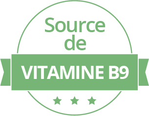 Source de vitamine B9